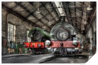 Steam Trains, Print