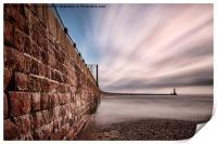 Roker Pier at Sunderland, Print