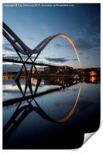 Infinity Bridge, Print