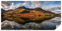 Buttermere Reflected, Print