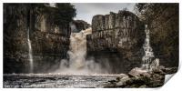 High Force Waterfall, Print