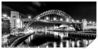 Tyne Bridge, Print