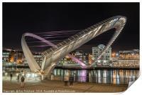 Millennium Bridge Open, Print