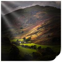 The lake district  , Print