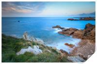 Guernsey Sunset , Print