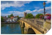 Henley on Thames, Oxforshire , England , Print