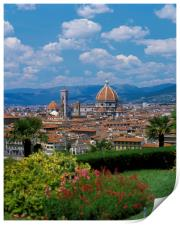 FLORENCE ITALY , Print