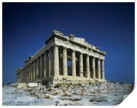 Athens,The Parthenon., Print