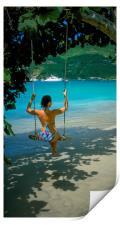 Cane Garden Bay ,Tortola BVI , Caribbean , Print