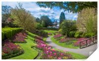 Guildford Castle Grounds ,Surrey England , Print