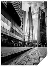 Londons the Shard, Print