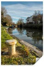 Kennet & Avon Canal, Print