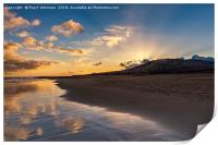 Sunrise Costa Calma, Print