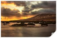 Costa Calma Sunset, Print