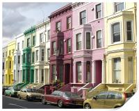 Notting Hill Colours, Print