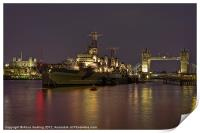 HMS Belfast, Print
