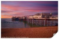 Brighton Pier Sunrise, Print