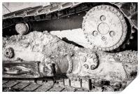 Dirty Industry Track and Cog, Print