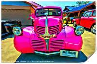 1949 Dodge Custom Pick up , Print