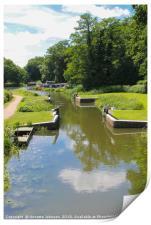 Canal Locks, Print