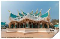 Wat Phar Pu Korn, Print