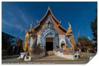 Wat Khu Khea, Print
