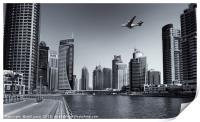 Dubai Marina, Print