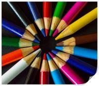Colour Wheel, Print
