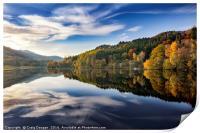 Loch Tummel - Perthshire, Scotland, Print