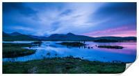 Midsummer at Lochan na h-achlaise, Print