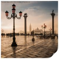 Early Morning Light in Venice, Print