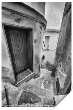 Streets of Riomaggiore II, Print