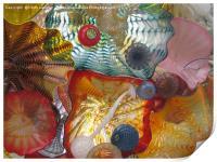 Art Glass - Underwater 7, Print