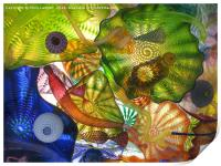 Art Glass - Underwater 10, Print