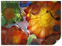 Art Glass - Underwater 11, Print