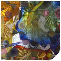 Art Glass - Underwater 5, Print