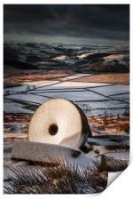 Stanage Edge Millstones, Print