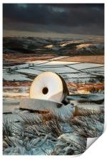 Stanage Millstones #2, Print