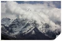 Himalayas..., Print