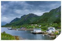 Lofoten Norway, Print