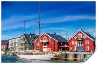 Colors of Norway, Print