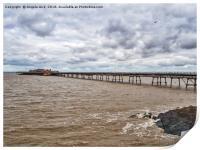 Birnbeck Pier., Print