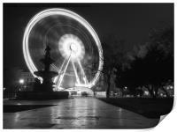 Budapest Eye. , Print