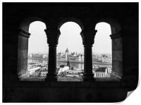 Room with a view., Print