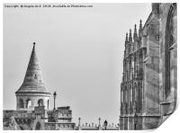 Fisherman's Bastion., Print