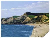 West Bay. Dorset., Print