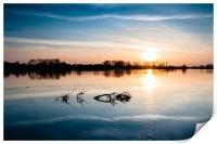 Wilstone Sunset, Print