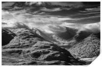 Shrouded Hills, Print