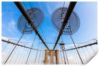 The Brooklyn Bridge, Print