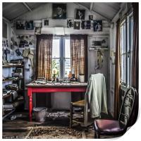 The Writing Shed, Print